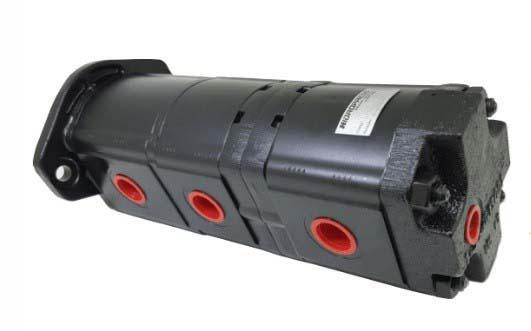 Bomba hidráulica para perfuratriz