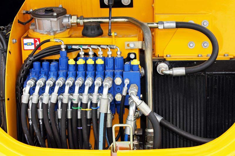 Conserto de comando hidráulico