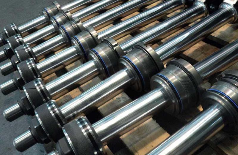 Manutenção de cilindros hidráulicos