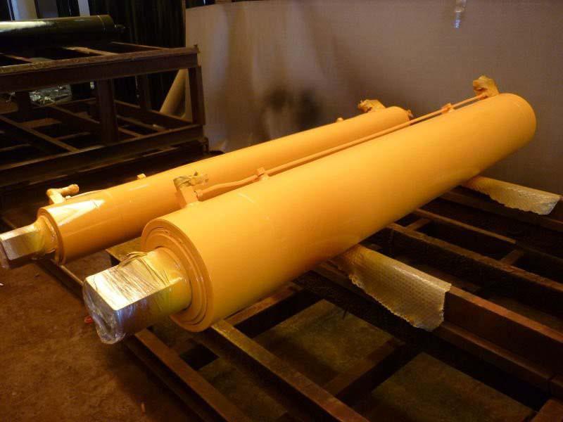 Recuperação de cilindros hidráulicos