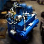 Manutenção em unidades hidráulicas
