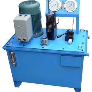 Manutenção de equipamentos hidráulicos